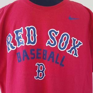 NIKE RED SOX Baseball Athletic T-shirt (XL)…